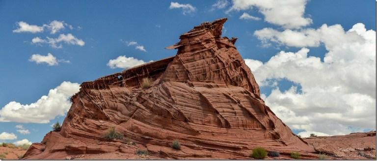 Sandstone formation Upper Buckskin Gulch Paria Canyon/Vermilion Cliffs Wilderness area Utah