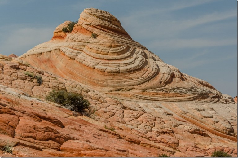 Swirling sandstone Paria Canyon-Vermilion Cliffs Wilderness Utah