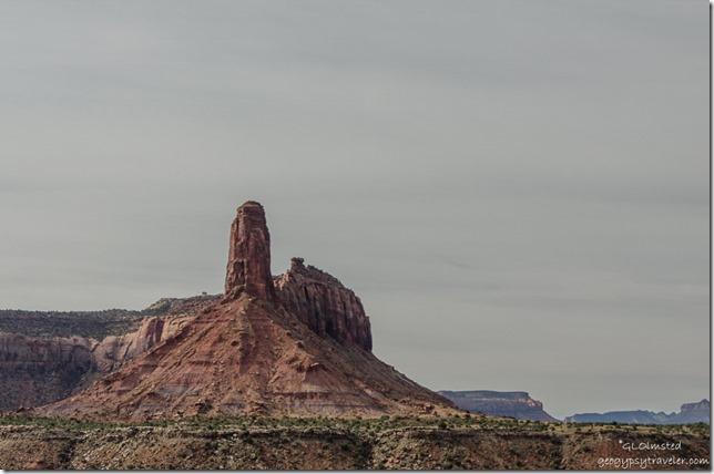 North Sixshooter Peak UT211 Utah