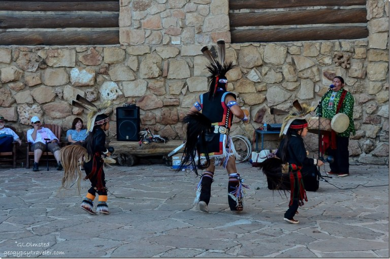 Derek & sons Horse dance Heritage Days North Rim Grand Canyon National Park Arizona
