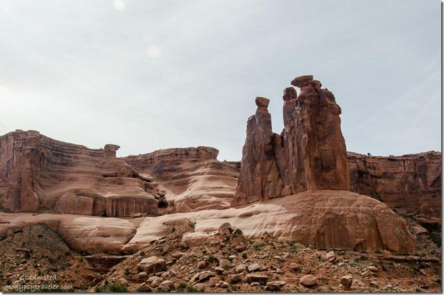 Three Gossips Arches National Park Utah