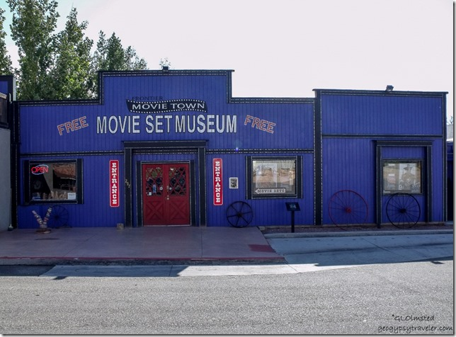 Entrance to Movie Set Museum Kanab Utah