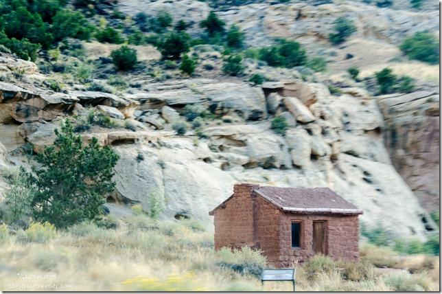 Behunin cabin Capitol Reef National Park Utah