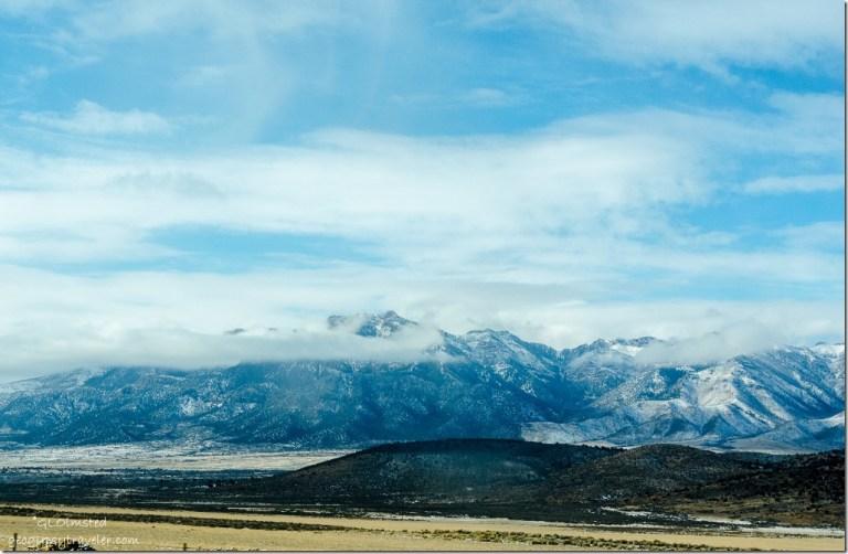 Snowy mountains SR89 Utah