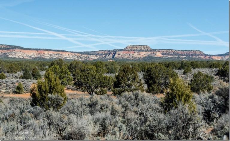 Block Mesas seen from BLM11 Utah