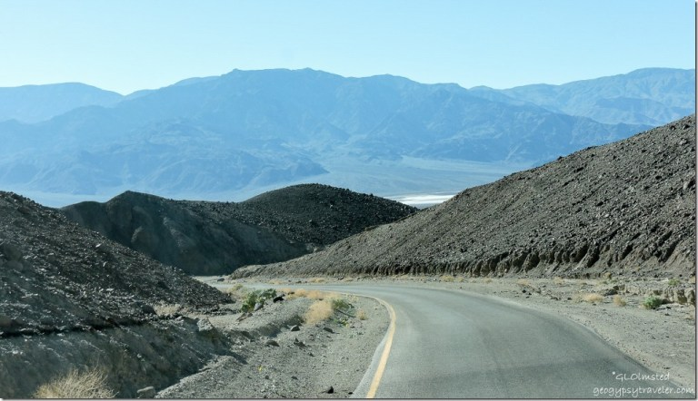 Artists Drive Death Valley National Park California