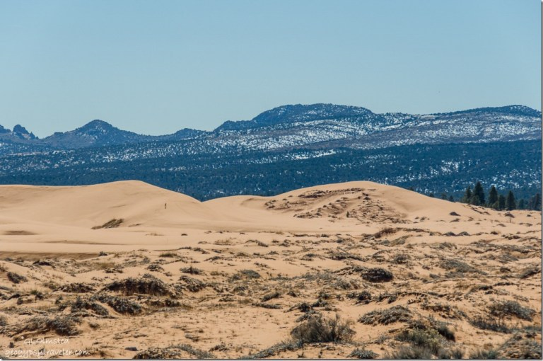 Moccasin Mountains Coral Pink Sand Dunes State Park Utah