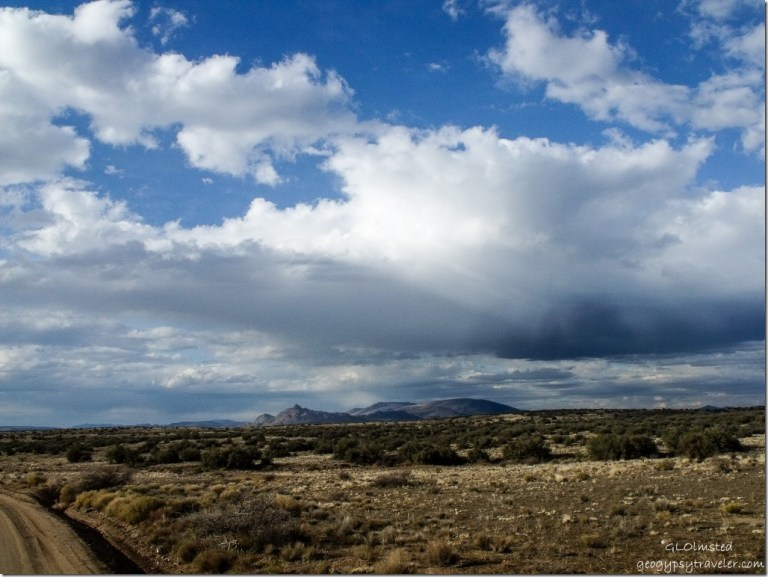 View from Wagner Road Arizona