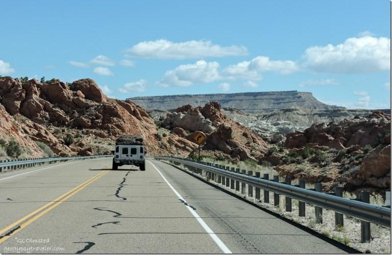 Cockscomb SR89 Eeast Utah