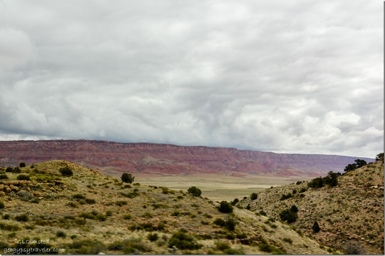 Storm clouds Vermilion Cliffs SR89A East Kaibab National Forest Arizona