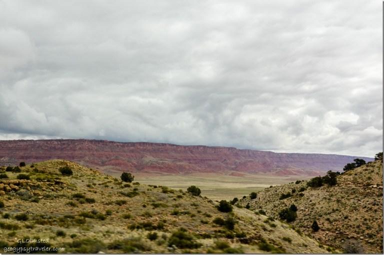 Storm clouds Vermilion Cliffs SR89A East Kaibab National Forest Arizona
