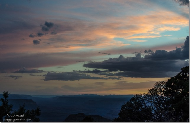 Sunset from Crazy Jug Point Kaibab National Forest Arizona
