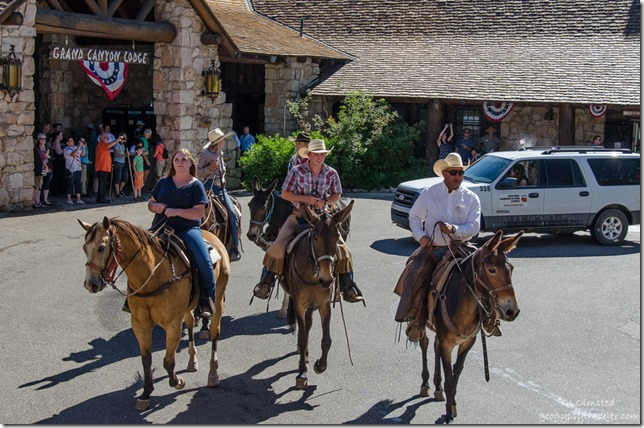 Wranglers 4th of July parade North Rim Grand Canyon National Park Arizona