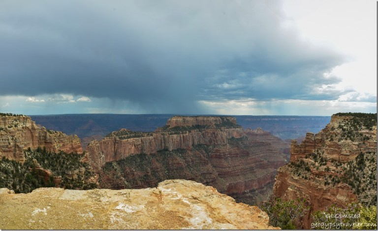Storm Wotans Throne Wedding Site Cape Roytal North Rim Grand Canyon National Park Arizona