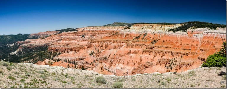 View from Point Supreme Cedar Breaks National Monument Utah