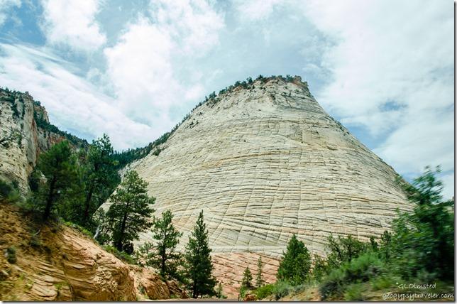 Checkerboard Mesa SR9 West Zion National Park Utah