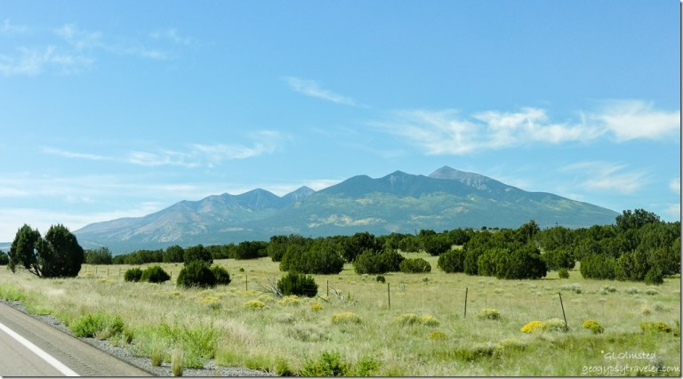 Humphreys Peak SR89 South Arizona