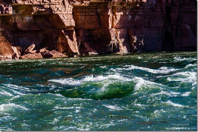 Paria Riffles Colorado River Lee's Ferry Glen Canyon Recreation Area Arizona