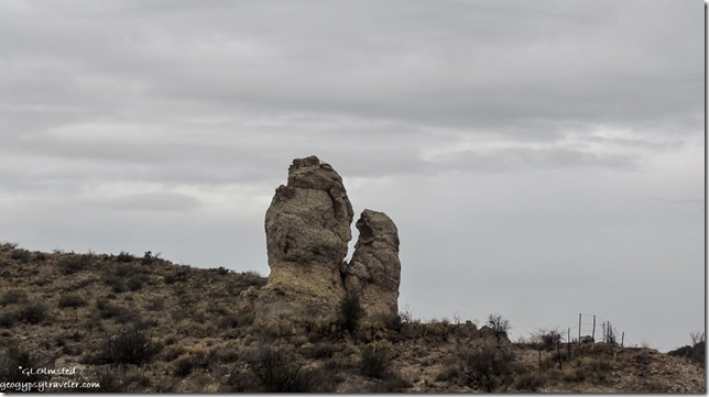 Kissing Rocks Iron Springs Road Arizona