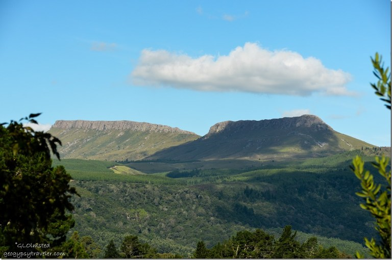 View of Hogsbacks from Never Daunted Self-catering Cottage Hogsback South Africa
