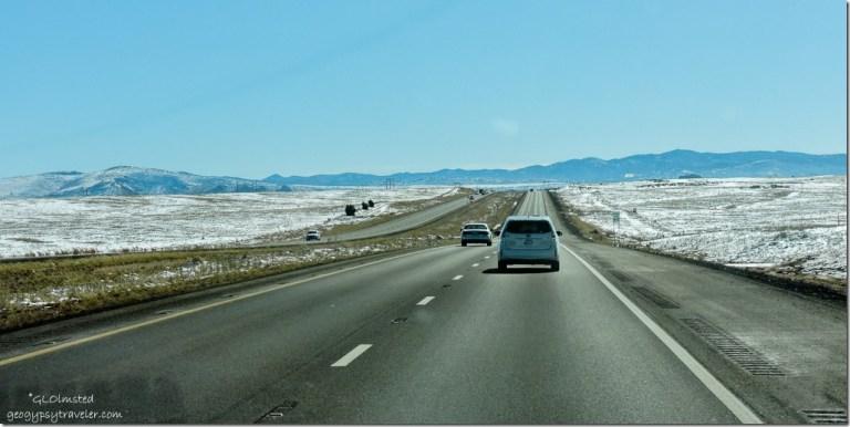 Snow SR89 South Chino Valley Arizona