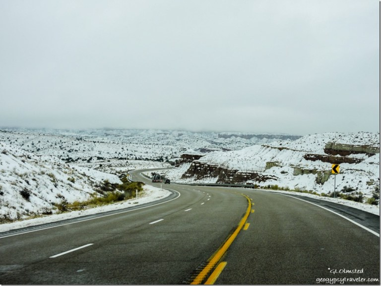 Snow SR89 West Utah