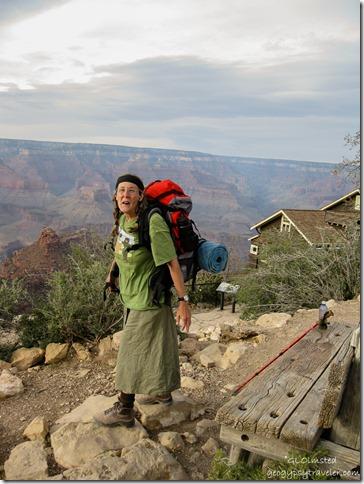 Gaelyn at the South Rim Grand Canyon National Park Arizona