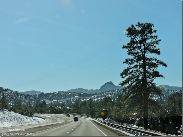 Snow Williamson Valley Road Prescott Arizona