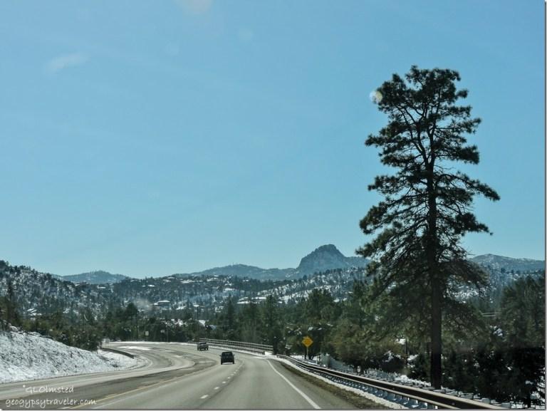 Snow Williamson Valley Road Prescott Arizona