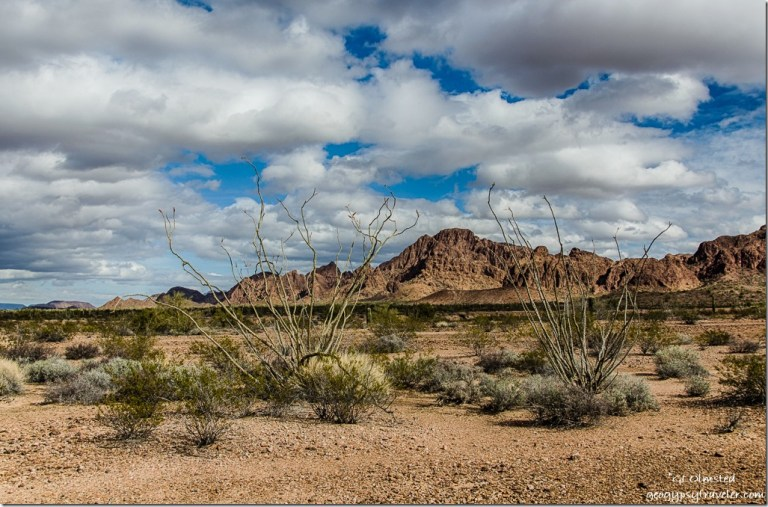 Northeast Ocotillos KOFA Mountains King Road BLM Arizona