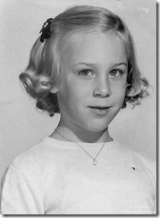 Gaelyn 7 years 1961 Hinsdale Illinois
