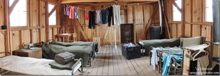 inside barracks ManzanarNational Historic Site Independence California