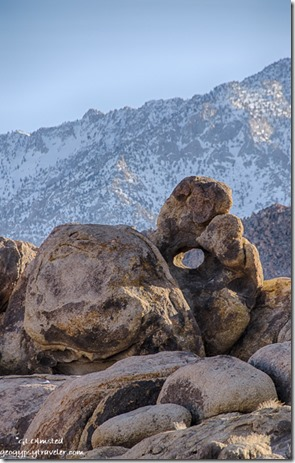 Arch High Sierras Alabama Hills BLM Lone Pine California