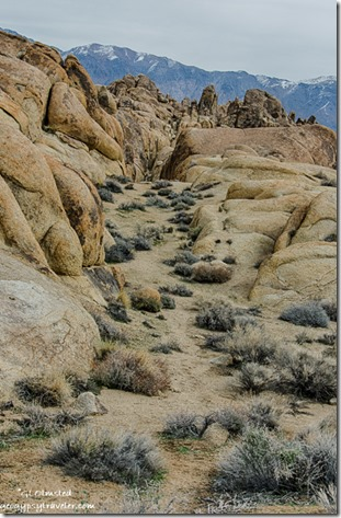 Inyo Mountains Alabama Hills BLM Lone Pine California