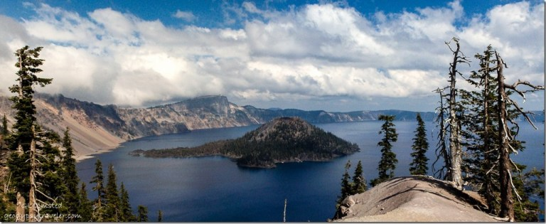 Wizard Island Crater Lake National Park Oregon