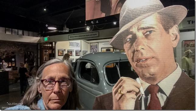 Gaelyn & Humphrey Bogart Museum of Westren Film History Lone Pine California