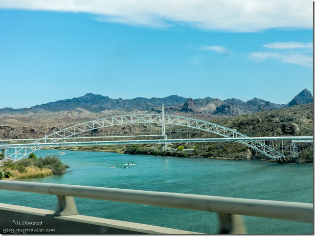 Colorado River I40 CA-AZ border