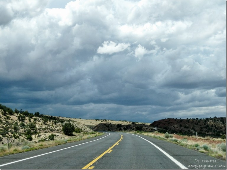 Storm over the Painted Desert Hwy 89 North Arizona