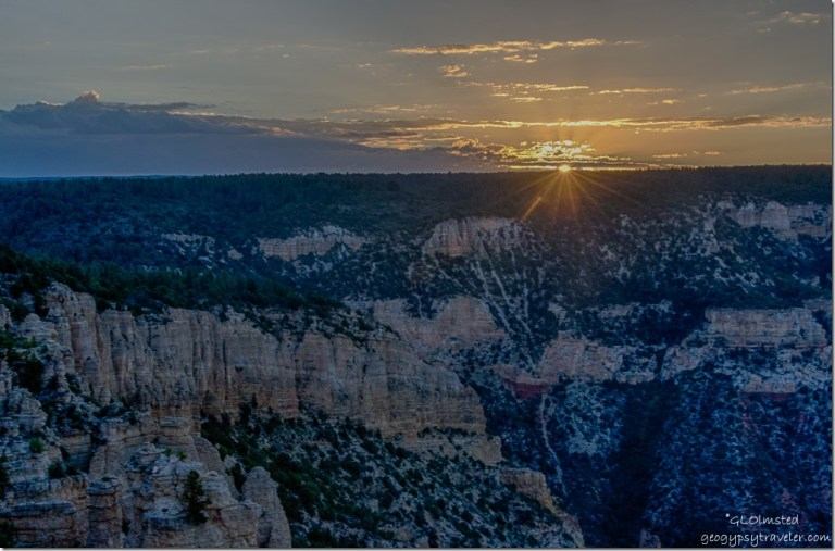 sunrise Crazy Jug Point Kaibab National Forest Arizona