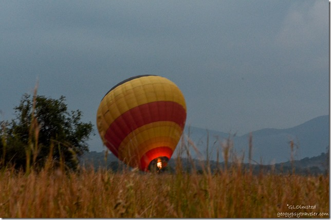 Hot air balloon Pilanesburg Game Reserve South Africa