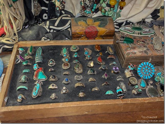 Rings in bedroom Yarnell Arizona
