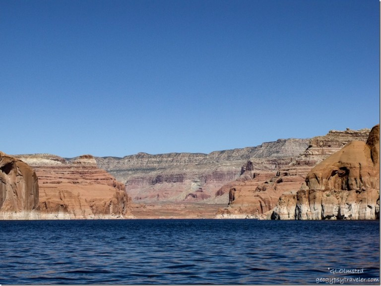 Dry Rock Creek Canyon Lake Powell Utah