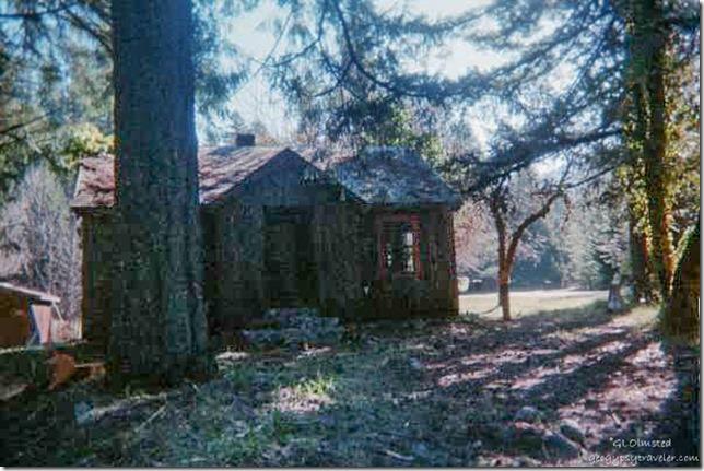 Ranger cabin Siskiyou National Forest Oregon