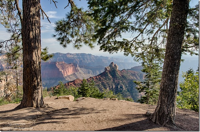 Brady Peak Vista Encantada Cape Royal Road North Rim Grand Canyon National Park Arizona