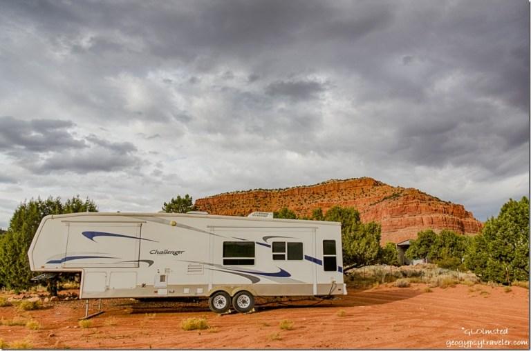 5th-wheel Kanab Utah