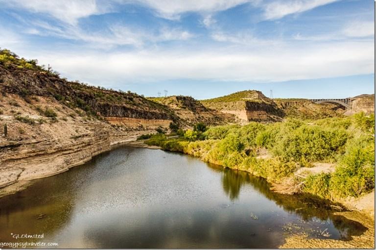 Burro Creek bridge US93 Arizona