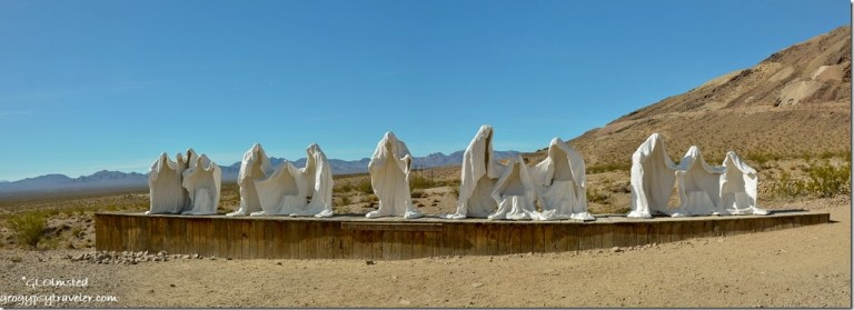 The Last Supper Goldwell Open Air Museum Rhyolite Nevada