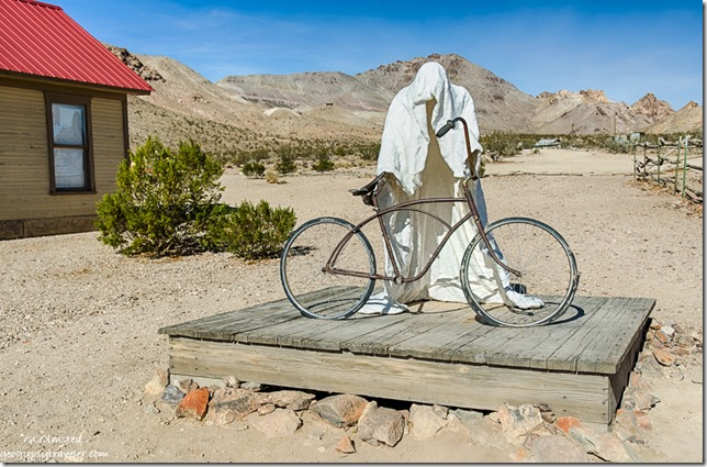Ghost rider Goldwell Open Air Museum Rhyolite Nevada