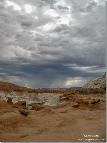 Storm over The Rimrock Grand Staircase Escalante Utah