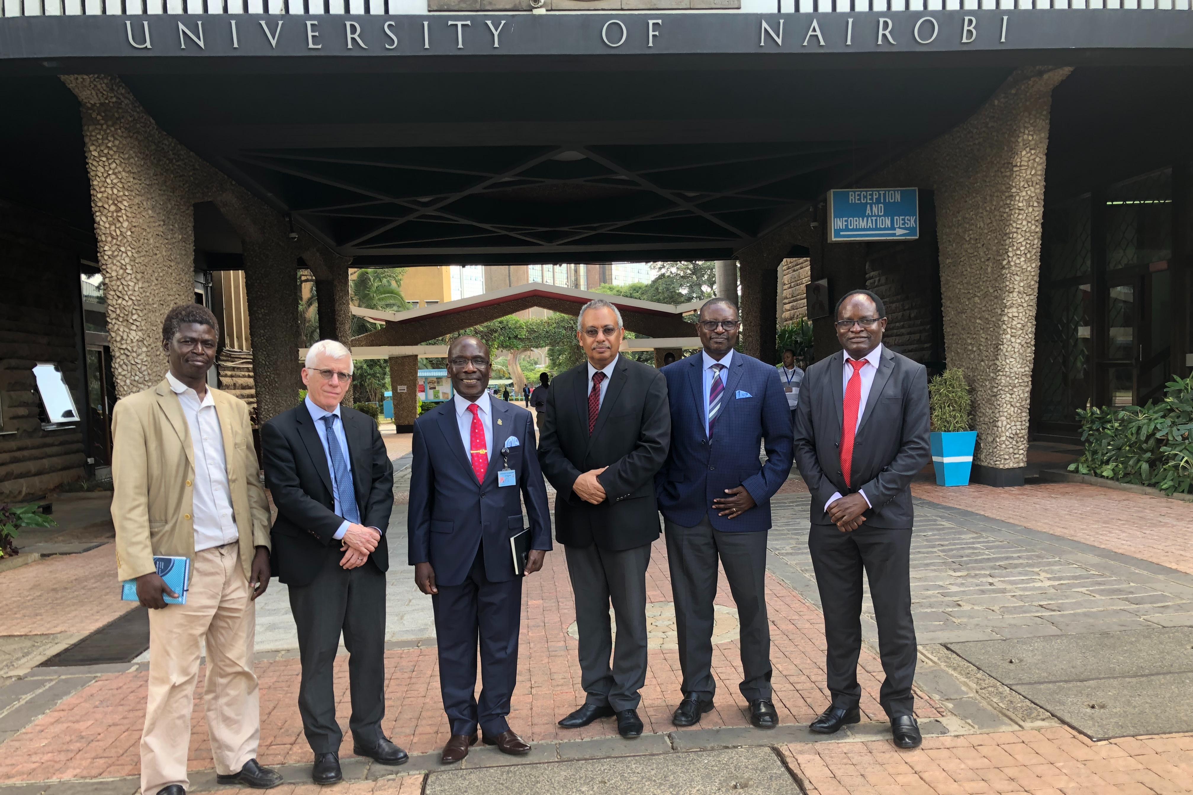Project Implementation & Hub Scholar Training Workshop in Kenya